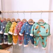 Garysoon 儿童加绒内衣套装 多色可选 80cm-130cm 19.99元包邮(需用券)