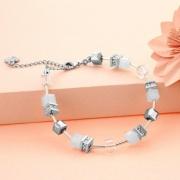 DIAMOND STYLE 施华洛世奇水晶立方个性手链115元包邮