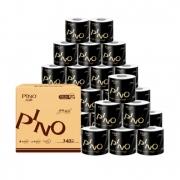 PINO 品诺 黑白经典卷纸 4层140g27卷 *2件 61.8元(合30.9元/件)¥62