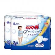 GOO.N 大王 天使系列 婴儿拉拉裤 XL号 28片*2包 196元包邮(需用券)¥196