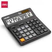 deli 得力 1675 双电源桌面计算器 黑色 *5件109.5元(合21.9元/件)