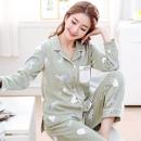 YUZHAOLIN 俞兆林 WJJ-DM008 女士睡衣套装 39.9元包邮(需用券)¥40