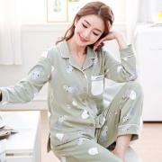 YUZHAOLIN 俞兆林 WJJ-DM008 女士睡衣套装 39.9元包邮(需用券)