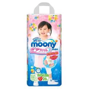moony尤妮佳 女婴用拉拉裤XXL26片*5件