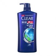 CLEAR 清扬 男士去屑洗发水 活力运动薄荷型 1KG *2件89.9元(合44.95元/件)