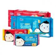 京东PLUS会员:心相印 儿童湿巾 迷你便携装 8片*8包 *10件 83.6元(合8.36元/件)