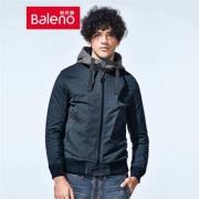 12日0点、双12预告: Baleno 班尼路 28737526 男士假两件连帽夹克低至55.6元/件