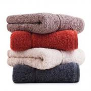 2日0点:三利 长绒棉素色毛巾 34*76cm*100g 4条装*5件
