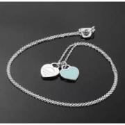 Tiffany & Co. 蒂芙尼 Return to Tiffany系列 Double Heart Tag 吊坠项链949.1元