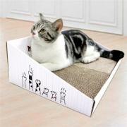 得酷 彩盒猫抓板 440*300*150*50mm 9.8元包邮(需用券)