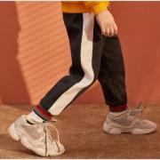 CLASSICTEDDY精典泰迪 儿童加绒卫裤*2件69.8元包邮(需用券,合34.9元/件)