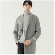 7日0点:GXG GA126529G 男士羊毛长款大衣