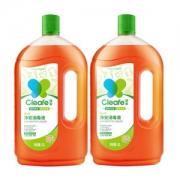 天猫超市 净安 家用杀菌清洁消毒液 1L*2瓶 稀释后可消毒伤口