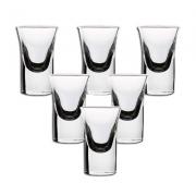 hyu 玻璃白酒杯 30ml 6只 8.41元包邮(双重优惠)