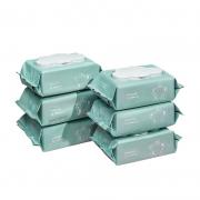 12日0点、88VIP:babycare 婴儿湿巾 加厚80抽 6连包 *2件 90.6元包邮(需用券,合45.3元/件)