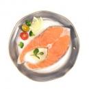 通威鱼  智利冷冻轮切三文鱼排(大西洋鲑) 250g/袋 *6件134.43元包邮(折22.41元/件)