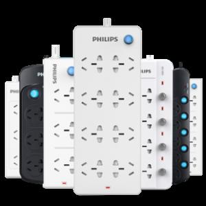 PHILIPS 飞利浦 1301P 迷你扩展插座 无线+3位 9.8元包邮(需用券)