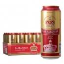 BARBAROSSA凯尔特人 德国进口红啤酒500ml*18听*3件135.6元(双重优惠,合45.2元/件)