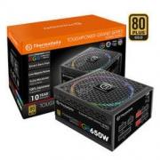 Tt Thermaltake 额定650W TPG RGB 650W 电脑电源 金牌全模组