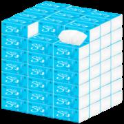 【雪亮】整箱抽纸4层*40包