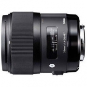 SIGMA 适马 ART 35mm F/1.4 DG HSM 标准定焦镜头 佳能卡口