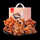 天猫超市 良品铺子 鸭肉零食大礼包 490g 次日达 44.9元过年价 正价89元¥55