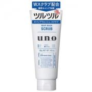 SHISEIDO 资生堂 UNO吾诺 男士清洁磨砂洗面奶 130g*3件