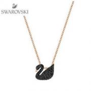 SWAROVSKI 施华洛世奇 Iconic Swan 5347330 小黑天鹅吊坠项链