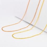 SUNFEEL 赛菲尔 SXJ0146 黄18K金项链 约40-45cm 399元包邮(需用券)