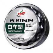 Turtle Wax 龟牌 白金白车蜡 180g 送黑水晶轮胎蜡 *2件108元(合54元/件)