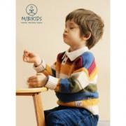 mibi A类品质 儿童毛衣保暖翻领羊毛衫154元包邮(需用券)