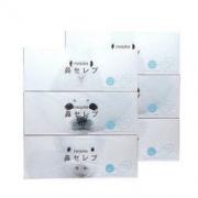 妮飘(nepia)盒装抽纸 鼻贵族柔润保湿纸巾 200抽盒抽*3盒面巾纸 无香(敏感肌鼻敏感适用) *2件