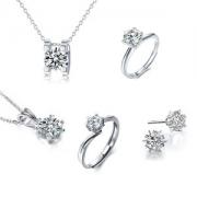 线下23家实体店铺 天使之约 堪比钻石闪亮的莫桑石戒指