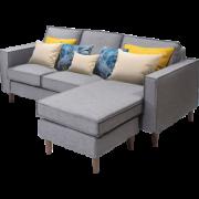SLEEMON 喜临门 多姿 全拆式拼装布艺沙发 2299元包邮