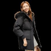 SNOW FLYING 雪中飞 X90140902D 女士大毛领羽绒服 399元(需用券)¥399