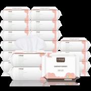 ¥149 十月结晶 婴儿干湿两用棉柔巾100片*18包+2包¥149