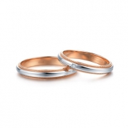 zbird 钻石小鸟 呢喃心语 950铂金+18K金 钻石戒指 0.9分 1670元包邮(需用券)