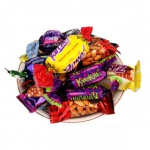 第二件半价 俄罗斯进口巧克力紫皮糖1斤 券后¥19.8