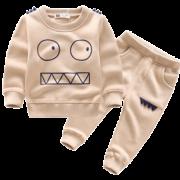 UTD 儿童抓绒卫衣套装 49.9元¥50