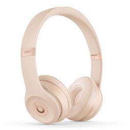 Beats Solo3 Wireless 头戴式 蓝牙无线耳机 手机耳机 游戏耳机 - 丝缎金