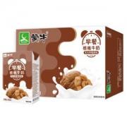 上海福利:MENGNIU蒙牛早餐奶核桃味利乐包250ml*16盒*7件163.37元包邮(双重优惠)