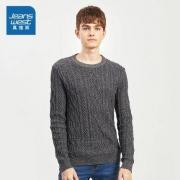 JEANSWEST 真维斯 JE-84-191006 男士纯棉针织衫39.92元(1件8折)