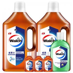 Walch威露士 衣物家居消毒液1L*2瓶+除菌液330ml+180ml