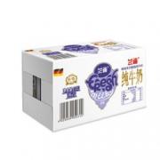 Lacheer 兰雀 脱脂纯牛奶 1L*12盒*3件