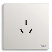 ABB 轩致 AF206 一位16A三孔空调插座 *3件 45.8元包邮(需用券,合15.26元/件)¥46
