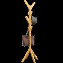 NKELIN 诺克林 木质落地衣帽架 高158cm 20.9元包邮(需用券)¥21