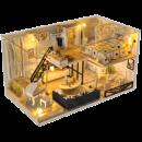 ¥33 diy小屋阁楼别墅手工制作小房子模型¥33