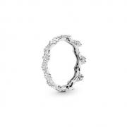 Pandora 潘多拉 花冠 925银戒指 197924CZ