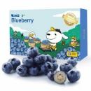 限地区:京觅 智利进口蓝莓12盒装 约125g/盒*5件395元包邮(需用券)