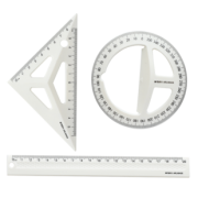 M&G 晨光 立体绘图套尺(三角尺+量角器+直尺)  券后7.8元¥7